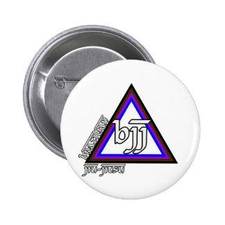 Brazilian Jiu Jitsu BJJ Triangle of Progress Buttons