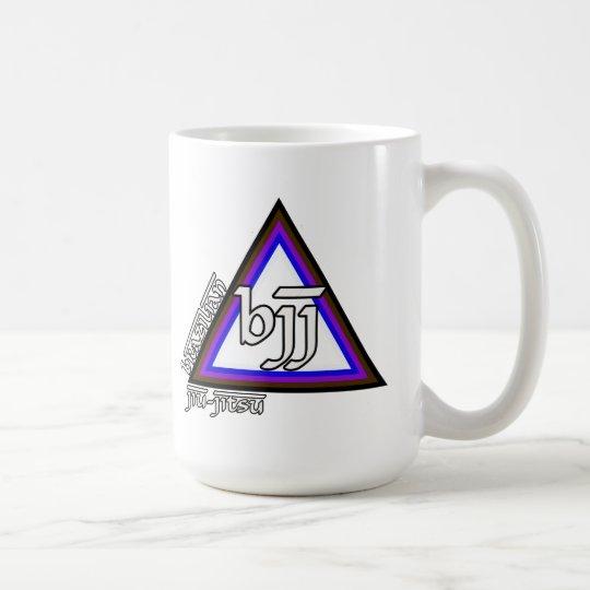 Brazilian Jiu Jitsu BJJ Triangle of Progress Coffee Mug