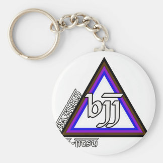 Brazilian Jiu Jitsu BJJ Triangle of Progress Keychain