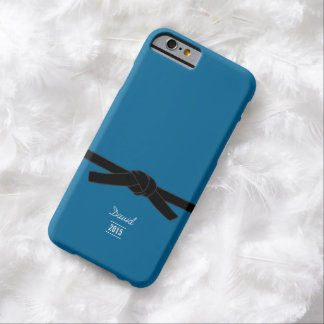Brazilian jiu-jitsu Black Belt Blue iPhone 6 Case