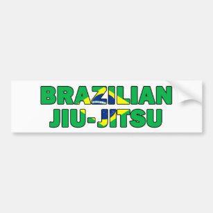 Brazilian Jiu Jitsu Bumper Sticker