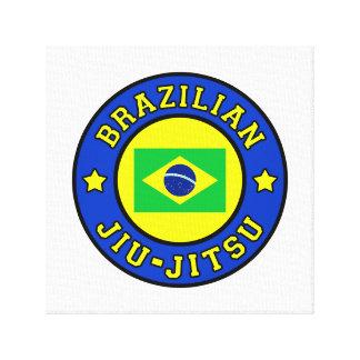 Brazilian Jiu-Jitsu canvas
