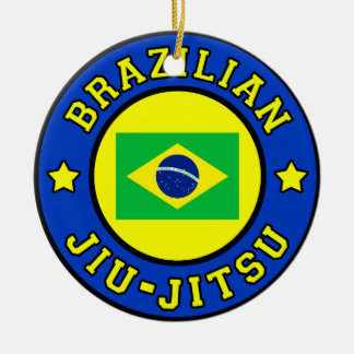 Brazilian Jiu-Jitsu Christmas ornament