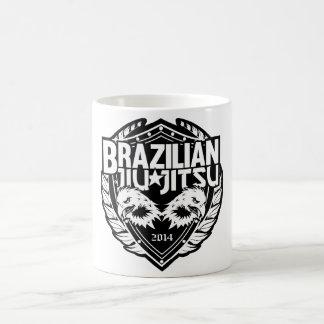 Brazilian Jiu Jitsu Customizable Emblem Coffee Mug