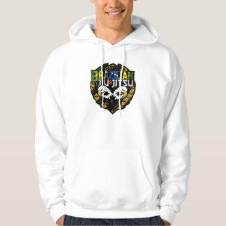 Brazilian Jiu Jitsu Customizable Emblem Hooded Sweatshirt