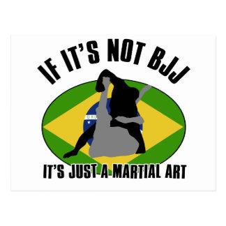 brazilian-jiu-jitsu design post cards
