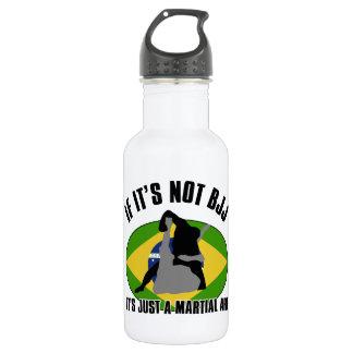 brazilian-jiu-jitsu design stainless steel water bottle