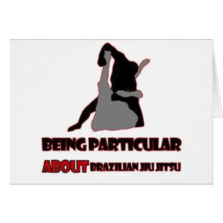 brazilian jiu jitsu Designs Card