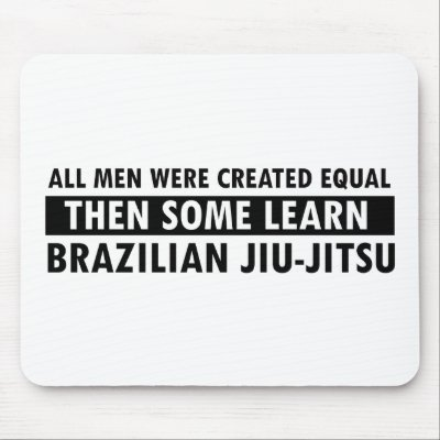 Brazilian Jiu Jitsu Mouse Pad Mma Mouse Mat Zazzle