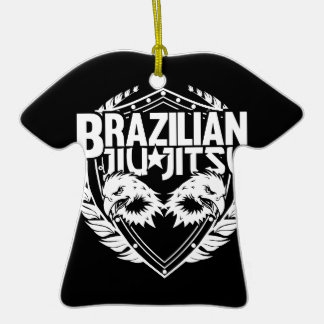 Brazilian Jiu Jitsu Emblem Ornaments