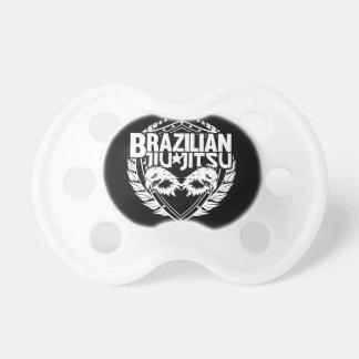 Brazilian Jiu Jitsu Emblem Pacifier