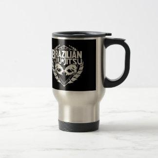 Brazilian Jiu Jitsu Emblem Travel Mug