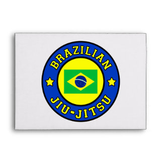 Brazilian Jiu Jitsu Envelope