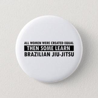 Brazilian jiu jitsu gift items pinback button