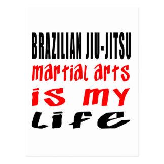 Brazilian Jiu-Jitsu Is My Life Post Cards