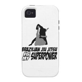Brazilian jiu jitsu is my superpower Case-Mate iPhone 4 covers