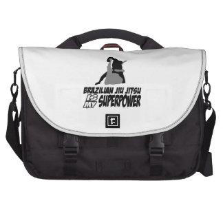 Brazilian jiu jitsu is my superpower laptop bags