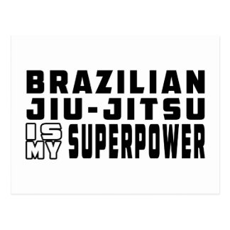 Brazilian Jiu-Jitsu is my superpower Postcards