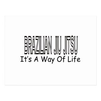 Brazilian Jiu Jitsu It's A Way Of Life Post Card