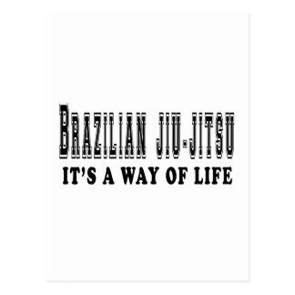 Brazilian Jiu-Jitsu It's way of life Post Card