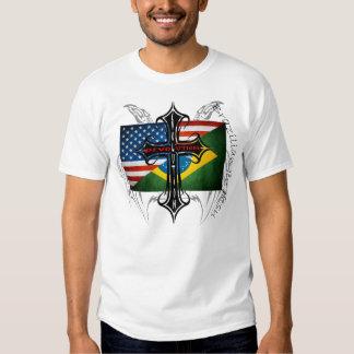 "Brazilian Jiu Jitsu ""Kombat Kross' Evolution  T Shirt"