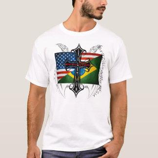 "Brazilian Jiu Jitsu ""Kombat Kross' Evolution  T T-Shirt"