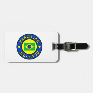 Brazilian Jiu-Jitsu Luggage Tag