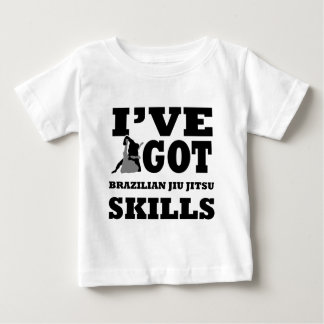 Brazilian Jiu Jitsu Martial Arts designs Baby T-Shirt