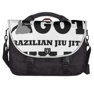 Brazilian Jiu Jitsu Martial Arts designs Laptop Messenger Bag
