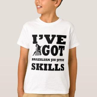 Brazilian Jiu Jitsu Martial Arts designs T-Shirt