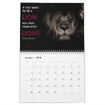 Brazilian Jiu Jitsu Motivational Calendar