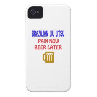 Brazilian Jiu Jitsu pain now beer later iPhone 4 Covers