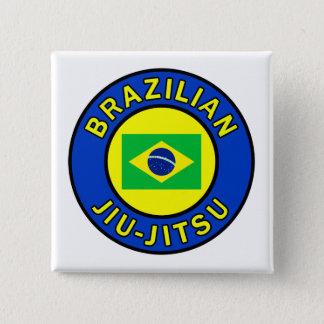 Brazilian Jiu Jitsu Pinback Button