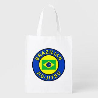 Brazilian Jiu-Jitsu Reusable Grocery Bag