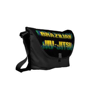 Brazilian Jiu-Jitsu Small Messenger Bag