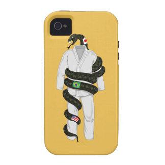 Brazilian Jiu Jitsu Snake Case-Mate iPhone 4 Cover