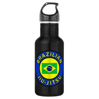 Brazilian Jiu Jitsu Stainless Steel Water Bottle