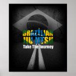 Brazilian Jiu Jitsu- Take The Journey Poster