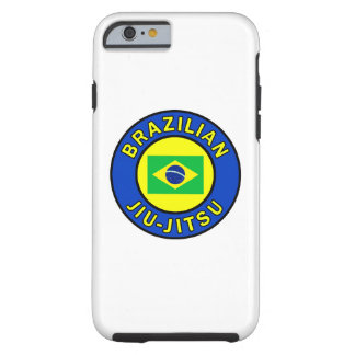 Brazilian Jiu Jitsu Tough iPhone 6 Case