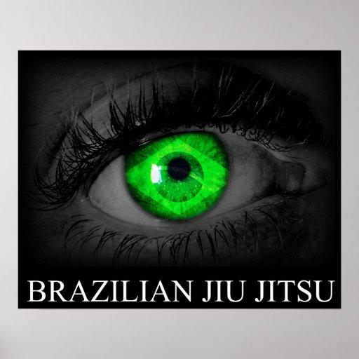 Brazilian Jiu Jitsu - Vision Poster