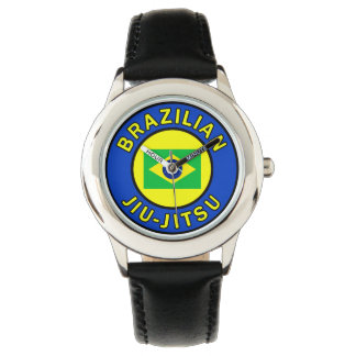 Brazilian Jiu-Jitsu Wrist Watch