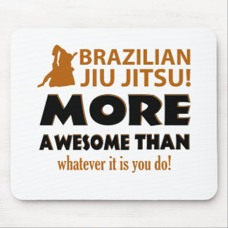 Brazilian Jiu Jutsu Martial arts gift items Mouse Pad