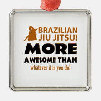 Brazilian Jiu Jutsu Martial arts gift items Christmas Tree Ornaments