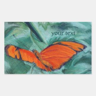 """Brazilian """"Julia"""" Butterfly Pastel Custom Stickers"""