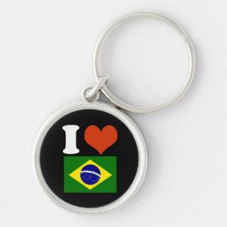 Brazilian keys keychain