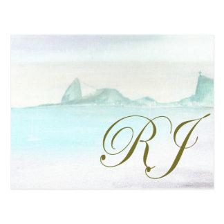 Brazilian landscape postcard
