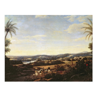 Brazilian Landscape with a Plantation Postcard