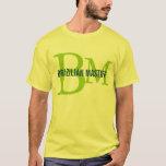 Brazilian Mastiff Breed Monogram Design T-Shirt