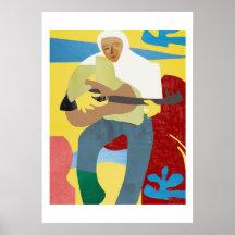 Brazilian Musician by Zabu Stewart Poster