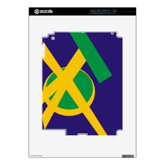Brazilian Portal Blue iPad 2 Skins